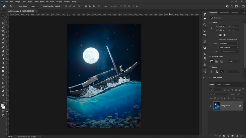 HOW TO CREATE A FLYER IN PHOTOSHOP_picfixs