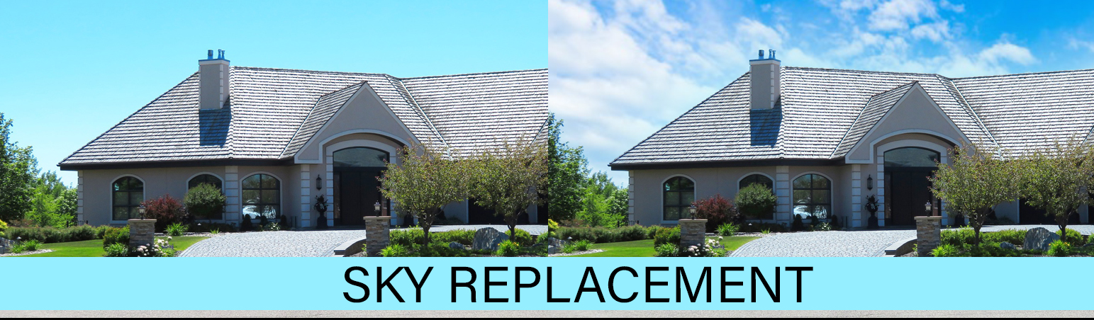 sky replacement